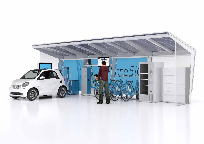Mobilitätsstationen